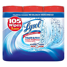 Lysol Disinfectant Wipes With Hydrogen Peroxide