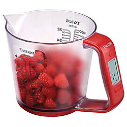 Taylor 3890 Digital Scale with Measuring