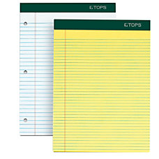 TOPS Docket Writing Pads 8 12