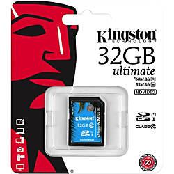 Kingston Ultimate 32 GB SDHC