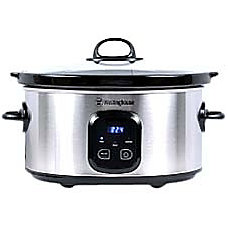 Westinghouse 7 Quart Slow Cooker Silver