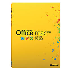 microsoft office home and student 2011 for 3 users for mac