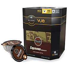 Tullys Coffee Espresso Roast Vue Packs