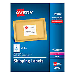 Avery Bulk Shipping Labels 3 13
