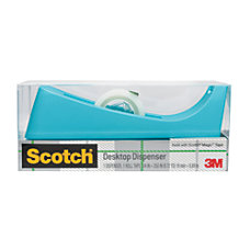 Scotch 100percent Recycled Desk Tape Dispenser