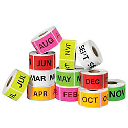 Tape Logic Months Of The Year