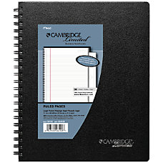 Cambridge Limited Business Notebook 8 12