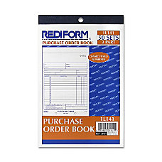 Rediform Purchase Order Form 50 Sheets