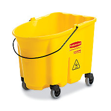 Rubbermaid WaveBrake Plastic Bucket 8 34