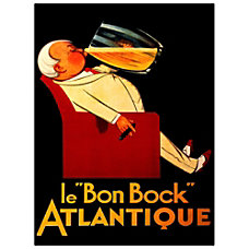 Trademark Global Bon Bock Gallery Wrapped