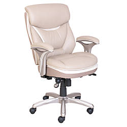 serta smart layers verona manager chair ivorychampagneoffice
