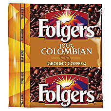 Folgers 100percent Colombian Pouch Coffee 175