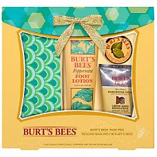 Burts Bees Mani Pedi Holiday Gift