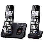Panasonic KX TGE232B Expandable Cordless Phone