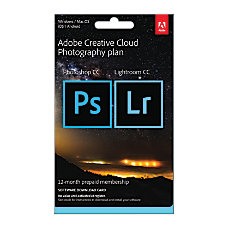 Adobe Creative Cloud Photography Plan Download