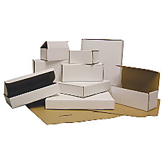 Office Depot Brand White Mailing Boxes