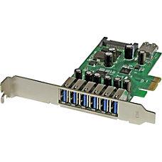 StarTechcom 7 Port PCI Express USB