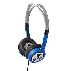 iFrogz EarPollution Toxix Stereo Headphones Blue