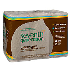 Seventh Generation 100percent Recycled Unbleached Jumbo