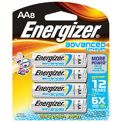 Energizer Lithium Advanced AA Batteries Pack