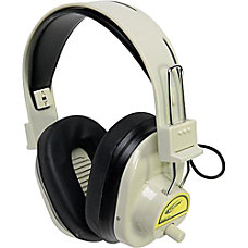 Califone Wireless Headphones Color Coded Yellow
