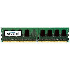 Crucial 1GB 240 pin DIMM DDR2
