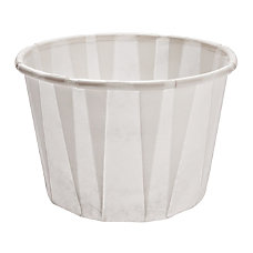 Solo Treated Paper Souffle Portion Cups