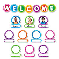 Color Your Classroom Welcome Bulletin Board