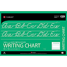 FORAY Chart Tablet 1 Ruled 24
