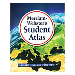 Merriam Webster Inc Student Atlases Grades