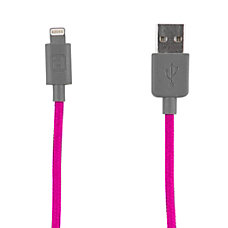 iHome Nylon Lightning Charge Sync Cable