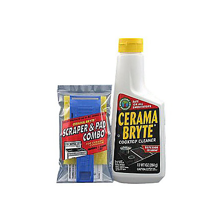 Cerama Bryte Ceramic Cooktop Cleaning Kit By Office Depot