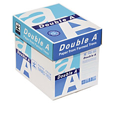 Double A Brand CopyPrinter Paper Letter