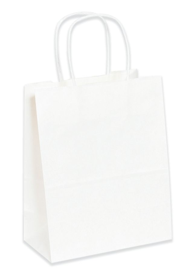 Office Depot Brand White Paper Shopping Bags 9 34 L X 7 34 W X 4 34 Pack Of  250 By Office Depot U0026 OfficeMax