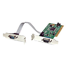 StarTechcom 2 Port PCI Low Profile