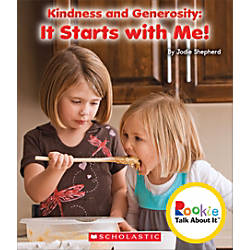 Scholastic Rookie Talk About It Kindness