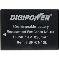 DigiPower BP CN10L Digital Camera Battery