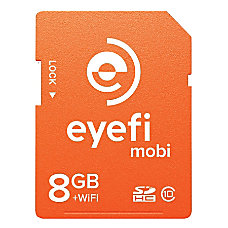 Eyefi Mobi 8GB SDHC Card with