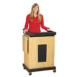 Oklahoma Sound Smart Cart Lectern With
