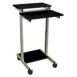 Luxor 24 W Standup Desk BlackGray