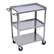 Luxor 3 Shelf Stainless Steel Serving