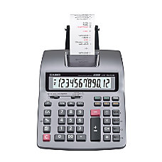 Casio HR 150TM Plus Printing Calculator