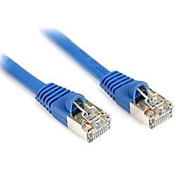 StarTechcom 7 ft Cat5e Blue Snagless