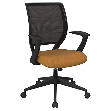 Office Star Work Smart Mesh Task Chair BrassBlack By Office Depot Offic