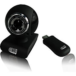 Adesso CyberTrack V10 Webcam 03 Megapixel