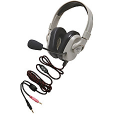 Califone Headset Rechargeable Vol Cntrl Mic