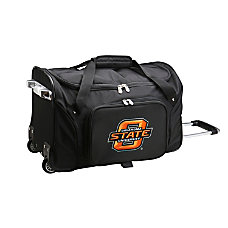 Denco Sports Luggage Rolling Duffel Bag