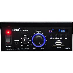 PyleHome PCAU25A Amplifier 80 W RMS