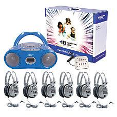 Hamilton Electronics Basic CassetteCD 6 Station