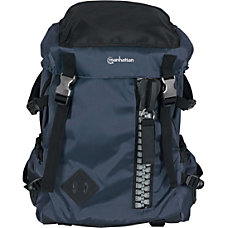 Manhattan Zippack 156 Laptop Backpack BlueBlack